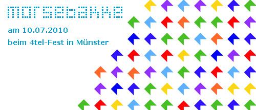 4-tel Fest in Münster